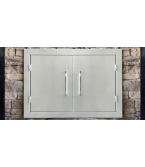 Stainless Steel Inbuilt Doors Kit
